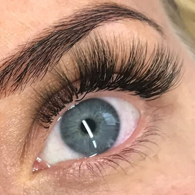 Russian volume lashes by Beauty Spa Salon
