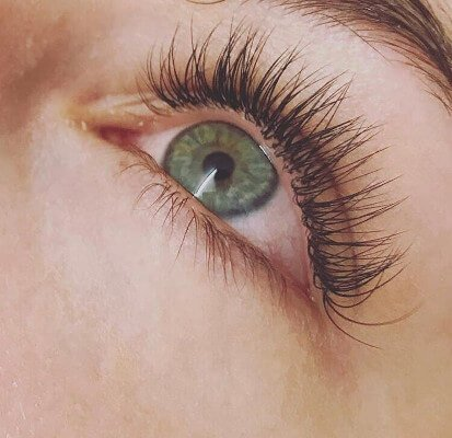 professional eyelashes by beauty spa Canterbury