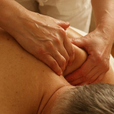 Massage treatments will release tension
