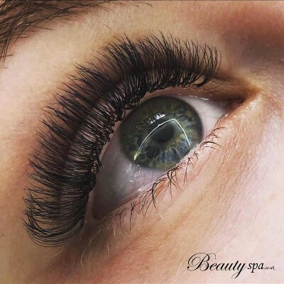 Russian Volume Lashes in Canterbury at our beauty salon